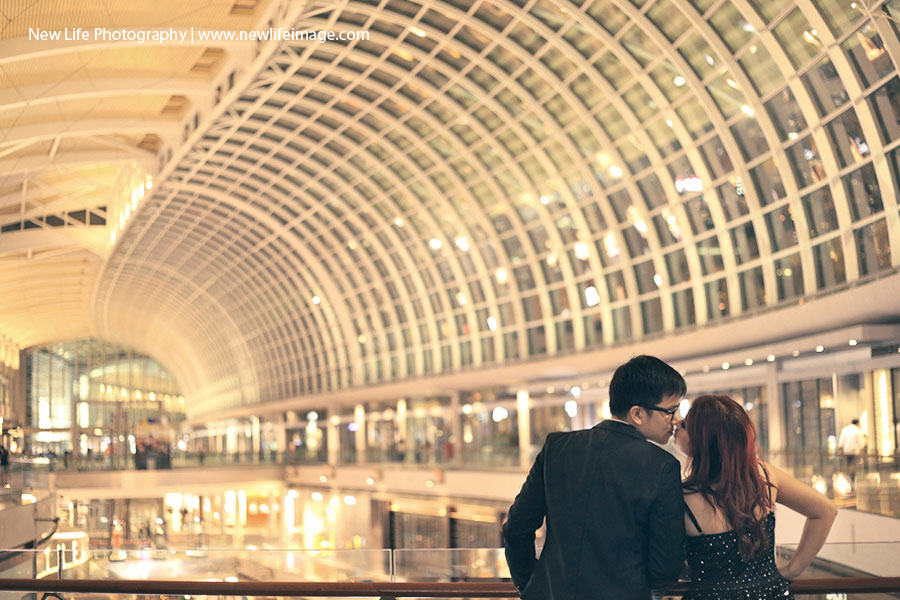 Prewedding Aling & Bernard at Singapore 3