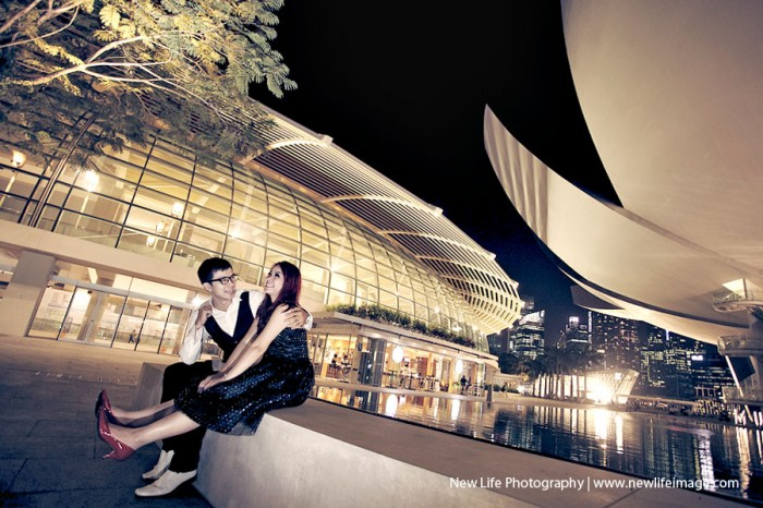 Prewedding Aling & Bernard at Singapore 5