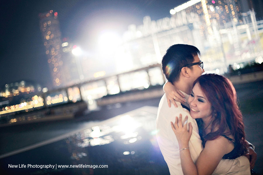 Prewedding Aling & Bernard at Singapore 8