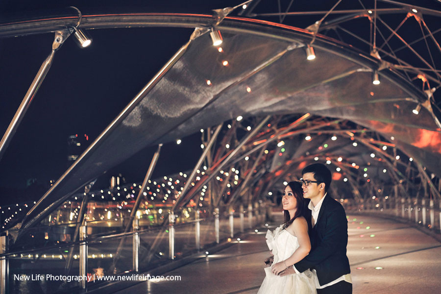 Prewedding Aling & Bernard at Singapore 11