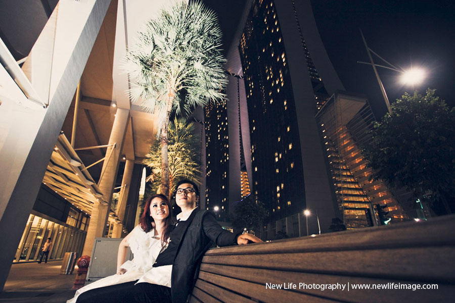 Prewedding Aling & Bernard at Singapore 14