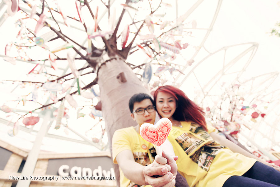 Prewedding Aling & Bernard at Singapore 18